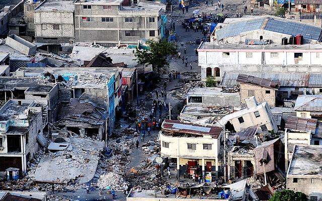 Haiti nach dem Erdbeben