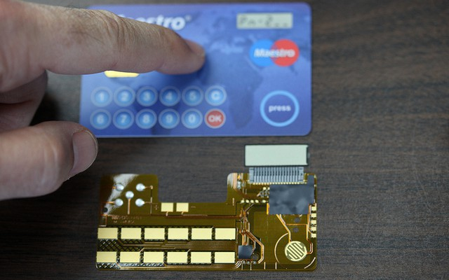 Kreditkarte der Zukunft