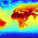 Die Temperaturen der Erde im Jahr 2100. Foto: Stuart Rankin flickr.com