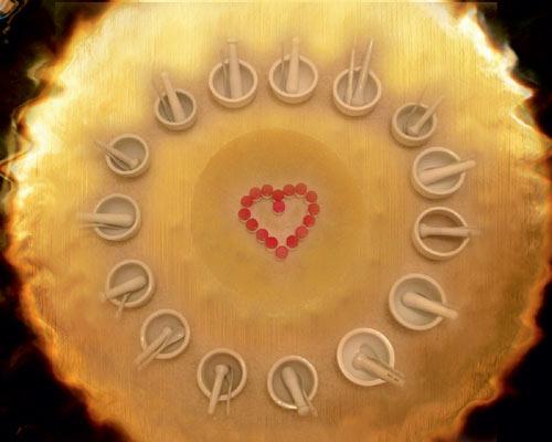 Mondpunkte-Gong-Verreibung