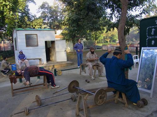 Lahore-Freiluft-Gym