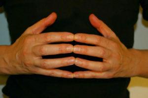 Organoskop Zeit des Steißbeins