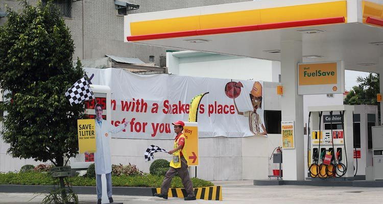 Ölkonzern Shell