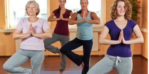 Yoga in Gemeinschaft
