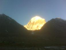 Weg ins Licht Kailash