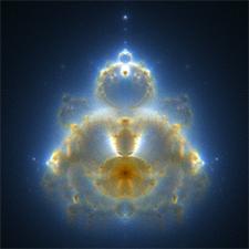 Buddha Mandelbrot Fraktal
