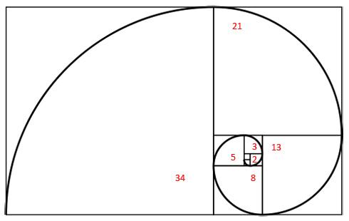Fibonacci Goldener Schnitt