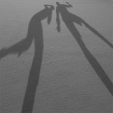 Erleuchtung Schatten