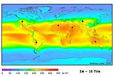Weltweites Potential von Solarenergie
